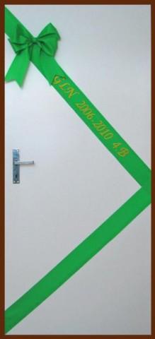 Foto: www.stuzkova.eu - Decorazione della porta delle classi dell'ultimo anno