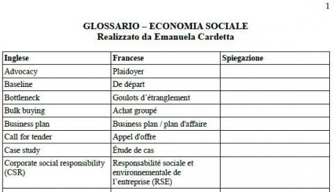 Glossario_economia sociale